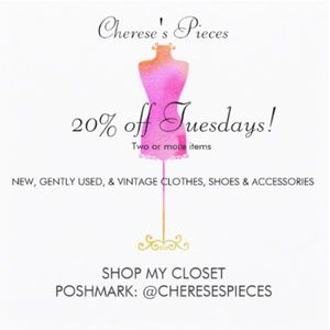 Other - 20% off Tuesdays!!